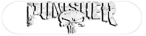 Reflektierende Aufkleber für Motorradhelm The Punisher (2 Stück)