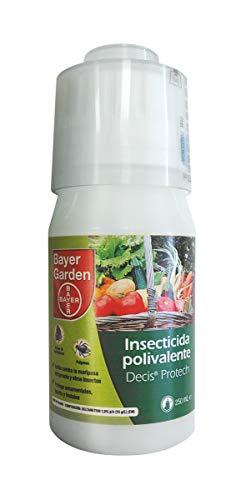 Insecticida polivalente concentrado para ornamentales, frutales y horticolas, pulgones y orugas, 250ml