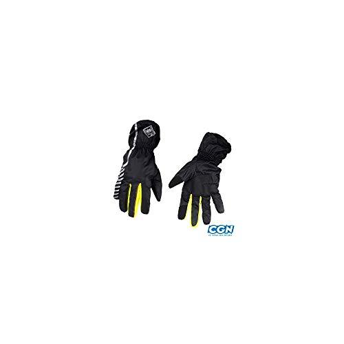 Motodak Gordon Nano Plus handschoenen voor volwassenen, unisex, zwart, 3XL