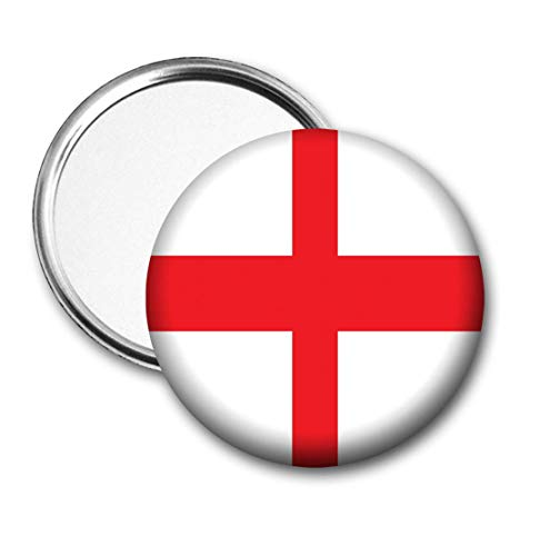 Engeland Vlag Pocket Spiegel voor Handtas - Handtas - Gift - Verjaardag - Kerstmis - Stocking Filler - Secret Santa