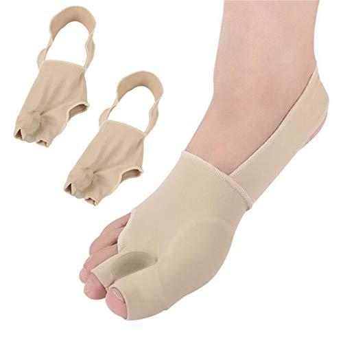 Alisador de, funda protectora con almohadillas elásticas de gel para juanetes, corrector ortopédico de hallux valgus superpuesto para el dedo del pie, martillo para el dolor de los dedos del pie
