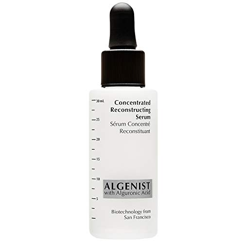 Algenist Concentrated Reconstructing Serum - Advanced Anti-Aging Smoothing Serum for Glowing Skin - Non-Comedogenic & Hypoallergenic (30ml / 1oz)