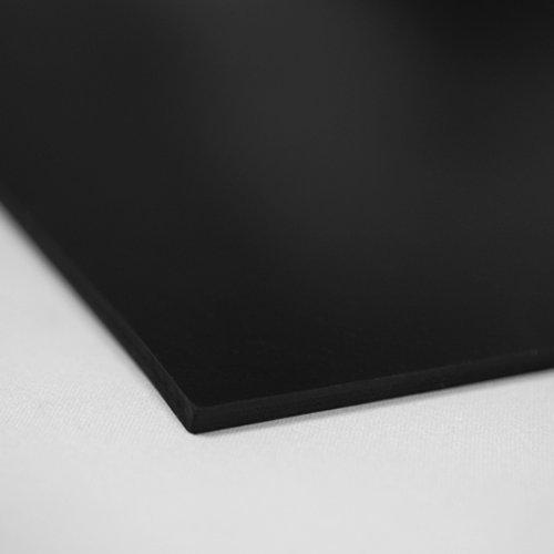 10m/² 1,0 x 10,0m Gr/ö/ße w/ählbar Feinriefenmatte mit Gewebeeinlage Farbe: Schwarz St/ärke: 3mm