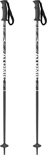 Atomic AMT Ski Poles Kids Sz 85cm (34in) Black/Grey