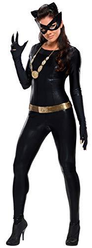 Rubie's Grand Heritage Catwoman Classic TV Batman Circa 1966, Black, Large Costume