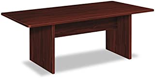HON BL Series Conference Table , Rectangle , Flat Edge Profile , Slab Base , 72