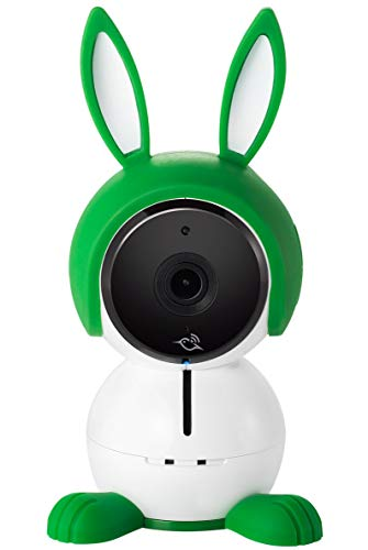 Arlo Baby Smart Babyphone, WLAN Babykamera 1080p HD mit 2-Wege-Audio, Nachtsicht, Luftsensoren, Schlaflied-Player, Nachtlicht, funktioniert mit Amazon Alexa, HomeKit, ABC1000