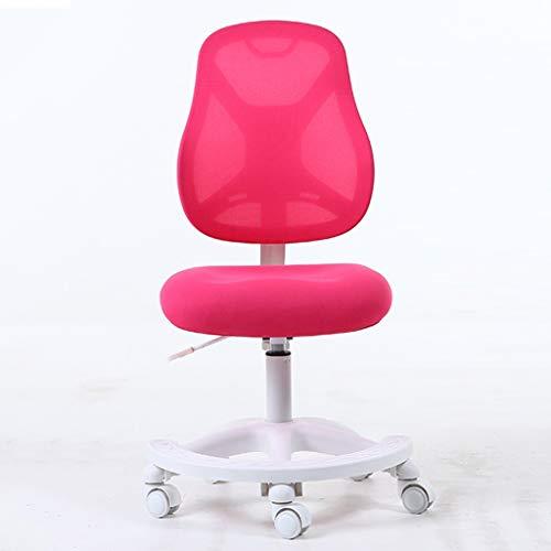 ZHEDYI Correctief zittend kind leren bureaustoel kan worden verhoogd en verlaagd, Ergonomische stoel hoge elastische kussen Student schrijfstoel, Home bureau computer stoel anti-hump bijziendheid