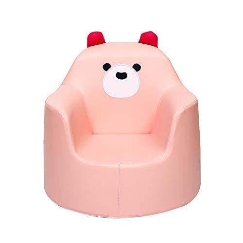 Canapé De Meubles pour Enfants, Garçon Fille Mousse Fauteuil, Chambre des Enfants Animé Jouet 50×50×48cm Sofa (Color : Pink)