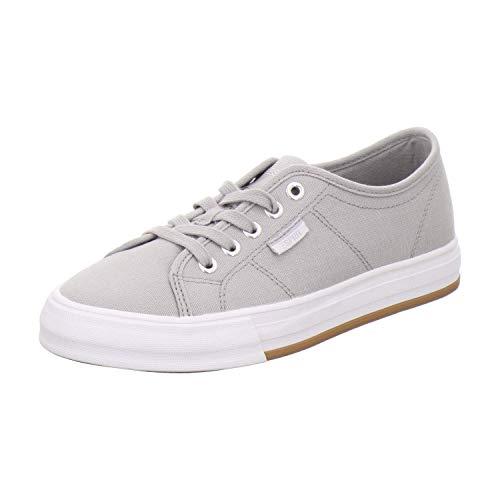 ESPRIT Sneaker Damen 030EK1W335 Größe 37 EU Grau (grau)