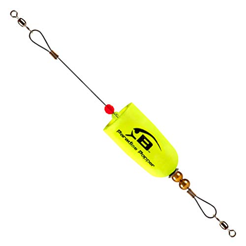 Bomber BSWPPPPY Paradise Popper X-Treme Pro Popper, Yellow
