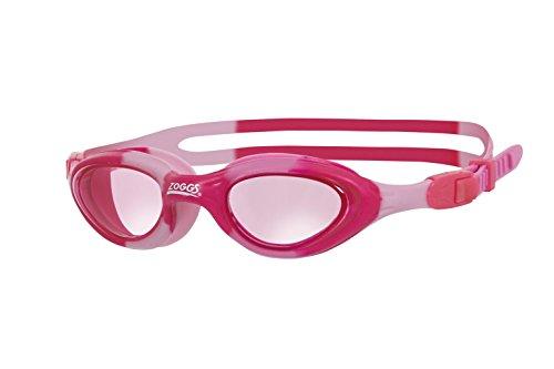 Zoggs Super Seal Junior Goggles Gafas de natación, Infantil, Rosa Camuflaje, 6-14 años
