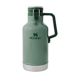 STANLEY(スタンレー) クラシック真空グロウラー 1.9L グリーン 炭酸 保冷 保証 01941-076 (日本正規品)