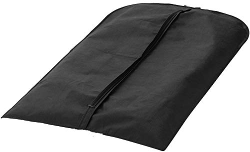 WHITE BERRY Long Garment Bag, Suit, Shirt & Dress Cover, Storage & Travel Clothes Protector (Pack of 5 Dress Bag)