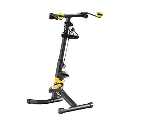 FLEXXI Duo Dual Health and Fitness Bike 360 ° con Movimiento bidireccional para la Parte Superior e Inferior del Cuerpo | Resistencia Ajustable: Liviana y fácil de almacenar