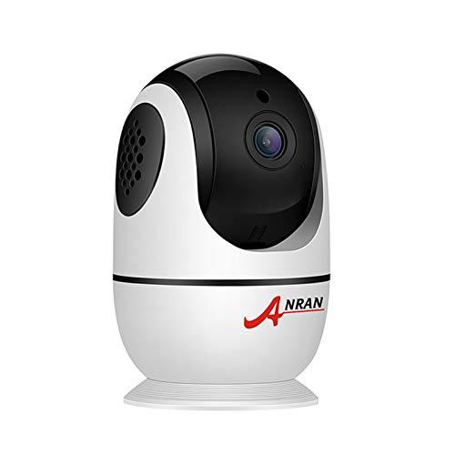 Walmeck Cámara de Seguridad inalámbrica para el hogar 1080P Full HD WiFi Cámara IP para Interiores Monitor de bebé con visión Nocturna, Audio bidireccional, detección de Movimiento, WiFi 2.4G
