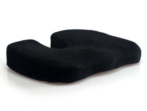 Romote coussin coccyx Coussin chaise pliante mousse à mémoire pour le bas du dos coccyx blessures sciatique hémorroïde pelviennes