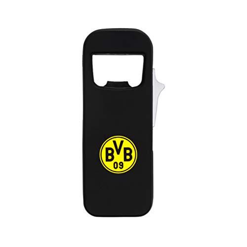 Borussia Dortmund Feuerzeug BVB Flaschenöffner schwarz Lizenzware