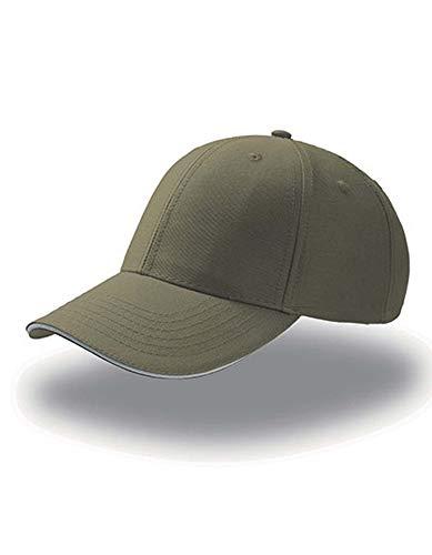 Atlantis Sport Sandwich Cap, One Size, Olive