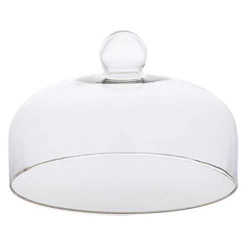 XZG-Tableware Plato de Carne Cúpula de Cristal de 30 cm, la Torta...