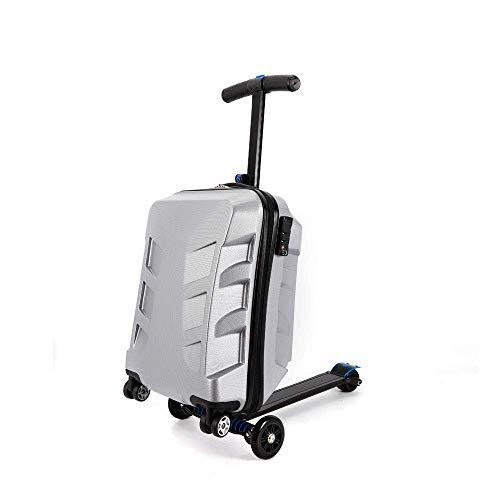 21 '' hard-shell koffertrolley Trolley koffer Handbagage 4 rollen rolbagage Rolling Bagage Auto 2 in 1 Bagagewiel Opvouwbaar