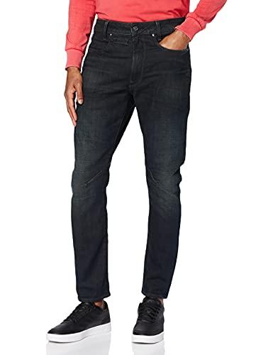 G-STAR RAW D-STAQ 3D Slim Jeans, Antic Dark Ink Blue B767/B815, 28W / L30 para Hombre