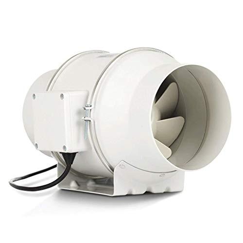 LFLLFLLFL Extractor de Baño Ventilador de Escape de baño Portátil Fan de Escape de la Cocina para la Cocina Baño de baños Dormitorio Sala de Estar Mall y Office 33/29 Decibeles