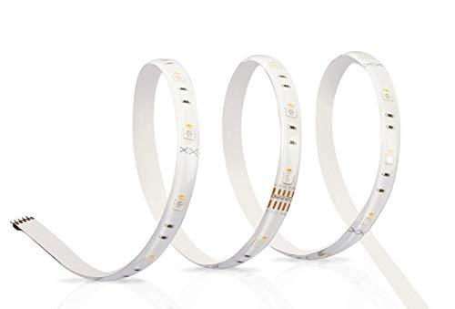OSRAM SMART+ LED Streifen, Bluetooth RGB LED Strip, dimmbar, warmweiß, tageslicht (2000K - 6500K), Länge 180cm