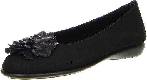 The Flexx Damen Ballerinas schwarz, Größe:38, Farbe:Schwarz