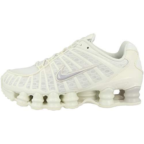 Nike Low Shox TL W - Zapatillas deportivas para mujer, color Beige, talla 42 EU