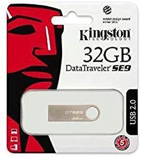 ذاكرة فلاش ميموري 32 جيجابايت يو اس بي 2 معدنية من كينجستون - DTSE9H/32GB