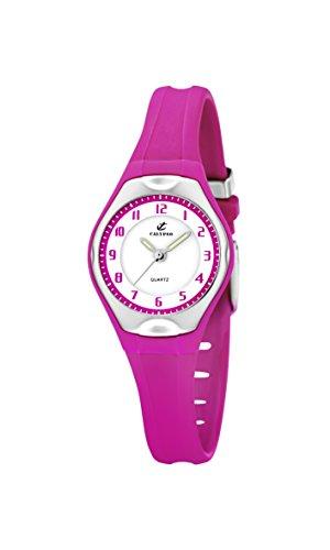 Calypso Watches - Reloj analógico de Cuarzo para niña con Correa de...