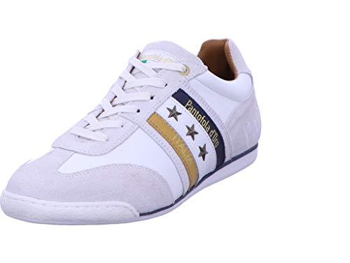 Pantofola D´ORO Sneaker Freizeit Herren Weiss Imola Uomo Low Größe 44 EU Weiß (weiß-bunt-kombiniert)