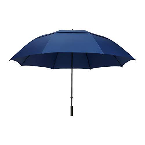 Umbrella Regenschirm Mit Langem Griff, Vergrößerter Reiseschirm, Regensicherer Regenschirm, Winddichter, Manuell Zu Öffnender Regenschirm, 182 cm, Bietet Platz Für 4-5 Personen