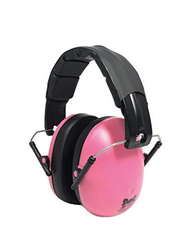 BANZ KIDZ EAR DEFENDERS, cuffie paraorecchie di protezione acustica per bambini dai 2 anni in più. ( Rosa )
