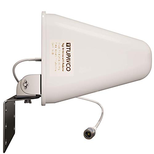 small Tupavco DB541 Dual Band WiFi Antenna – (2.4 GHz) and (5 GHz / 5.8 GHz) 9DBI – Directional Medium Range…