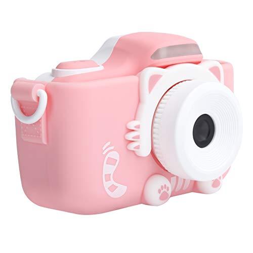 Mini cámara, cámara para niños Disparo nocturno Material ABS para niños Regalo para niños para niños pequeños para la interacción entre padres e hijos