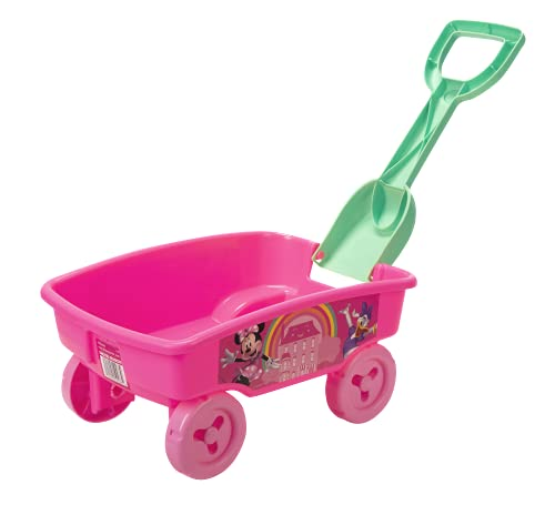 Minnie Mouse Wagon with Detachable Shovel, Perfect Toy for Park, Beach, Or Anywhere!