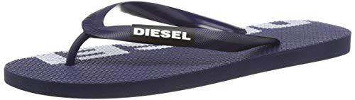 Diesel Sa-briian, Chanclas Hombre, Multicolor (Blue Nights/White H1806/P2294), 38.5 EU
