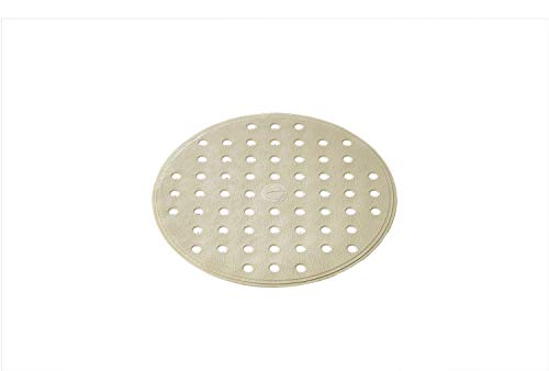 Ridder Action douchemat, 100% synthetisch rubber (TPE = thermoplastisch elastomeer), beige, ca. Ø 53 cm