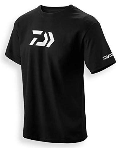 Daiwa 64051903 Vector Print T-Shirt, Black, L