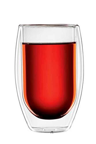 bloomix Teeglas Tetouan 400ml, doppelwandige Thermo-Teegläser im 2er-Set