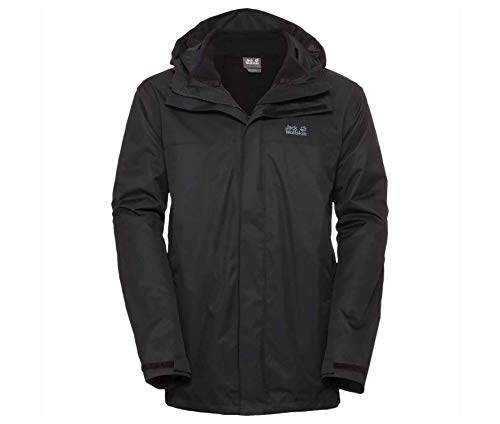Jack Wolfskin TAVANI Jacket Men Black - B60