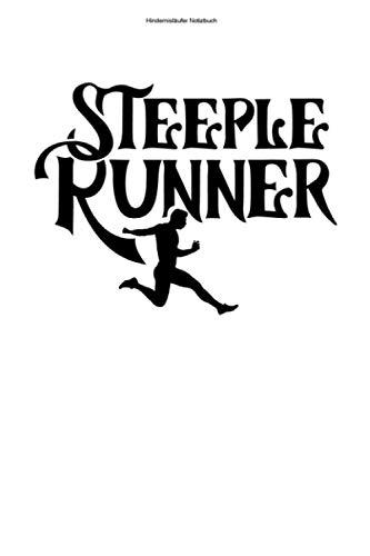 Hindernisläufer Notizbuch: 100 Seiten | Punkteraster | Rennen Hindernisläufer Lauf Hindernislauf Gift Track Läufer Team Laufen Bahn Hindernis Wettrennen