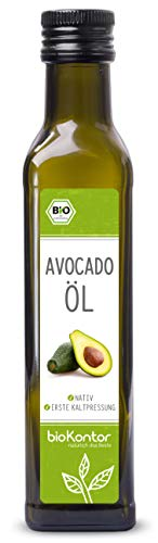 Avocadoöl/Avocado-Fruchtfleischöl - Bio-Zertifiziert - nativ, kaltgepresst, 100% rein von bioKontor - 250ml