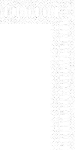 Duni 213028 3 plis Serviettes en papier pliée, 40 cm x 40 cm, 1/8 plis, Blanc (lot de 1000)