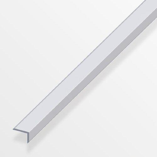 Kantenschutz-Profil, 200cm, Aluminium, silber eloxiert, 14x 10x 1,5mm