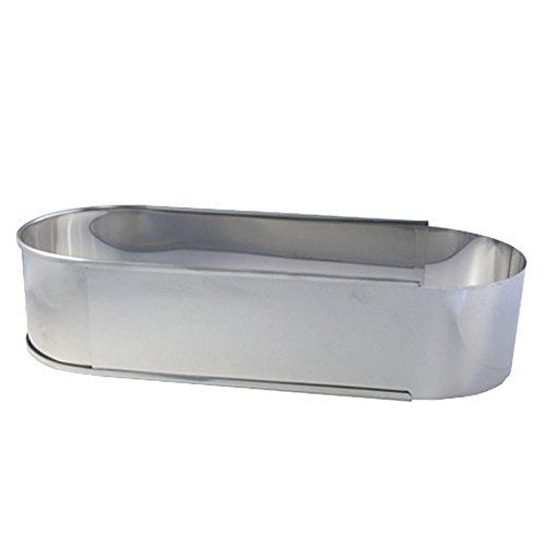 Backrahmen/ Stollenform/ Brotbackform oval, ausziehbar