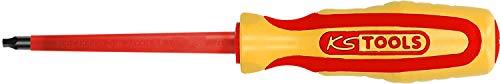 KS Tools 117.0593 ERGOTORQUE VDE Innenvierkant-Schraubendreher #2, 180mm