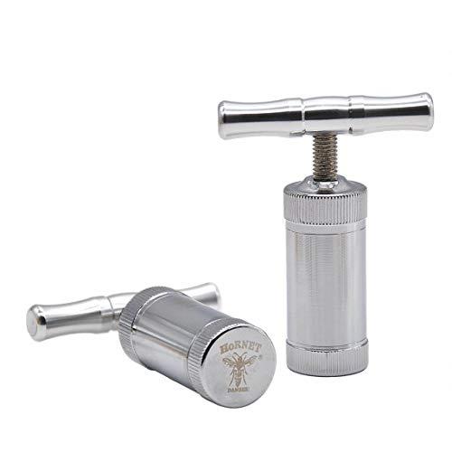 Angoter Metall Aluminium Pollen Presser Kompressorpresse Kräutermühle Gewürzmühle Brecher Zubehör
